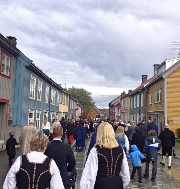 Bakklandet on 17th May