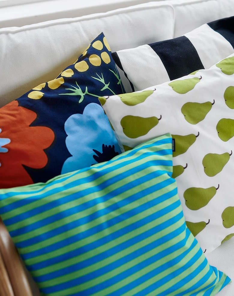 The bold colour philosophy of Finnish design company Marimekko