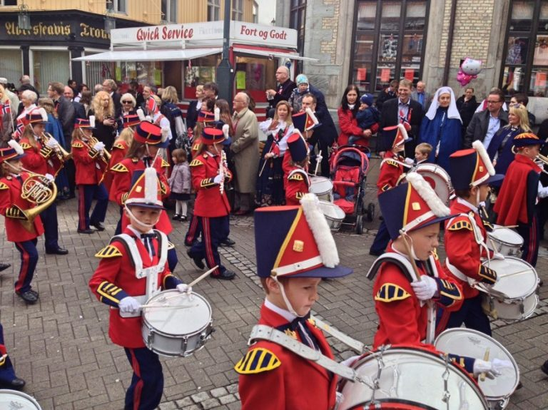 Children's parades in Norway for the National Day