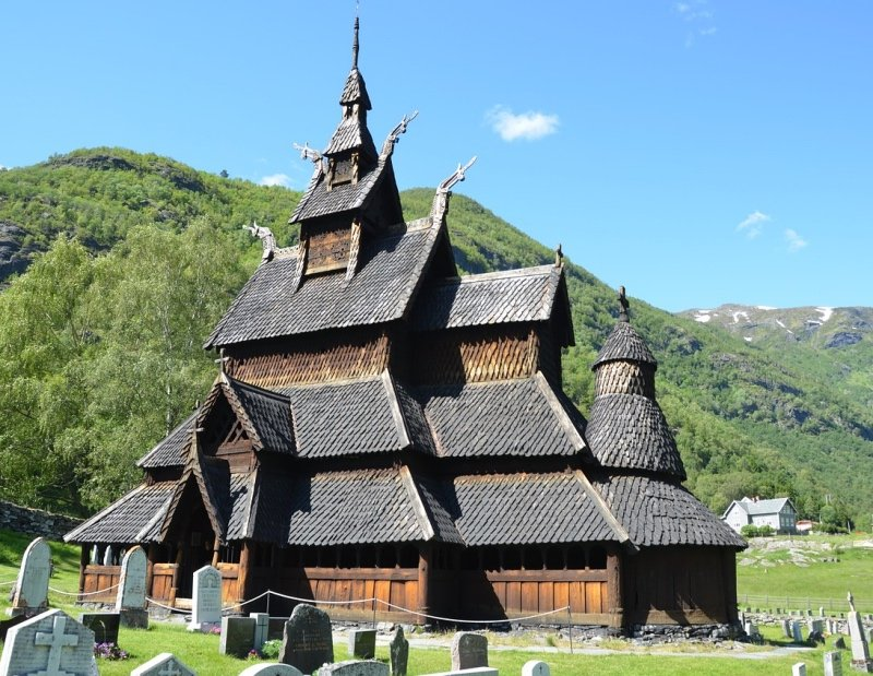 Borgund is Norway's most visited stave church and one of the best preserved.