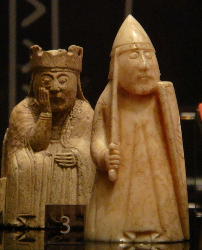 Lewis chessmen set
