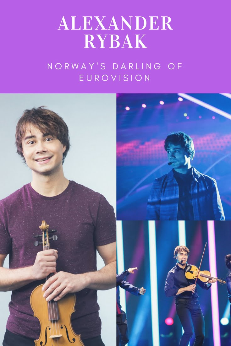 Alexander Rybak, the Belarusian-Norwegian singer who starred at the Eurovision Song Contest.