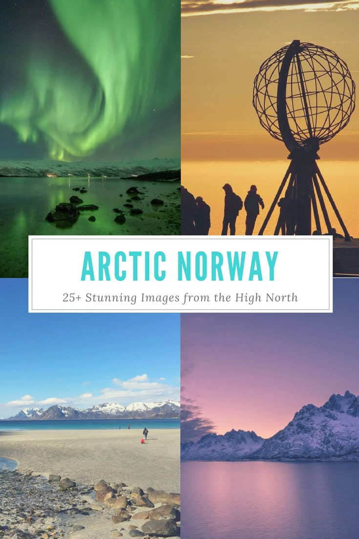 Beautiful Photography from Arctic Norway: Images from the northern lights to the chilly cities of the High North.
