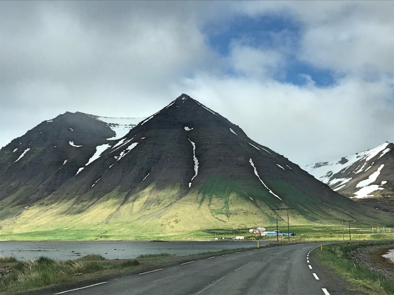 Colourful mountains of Iceland