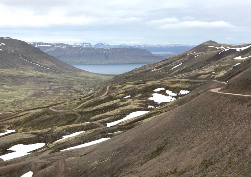 Driving the Iceland Westfjords