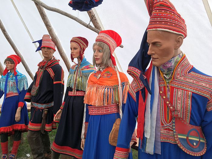 Norway Sami costumes