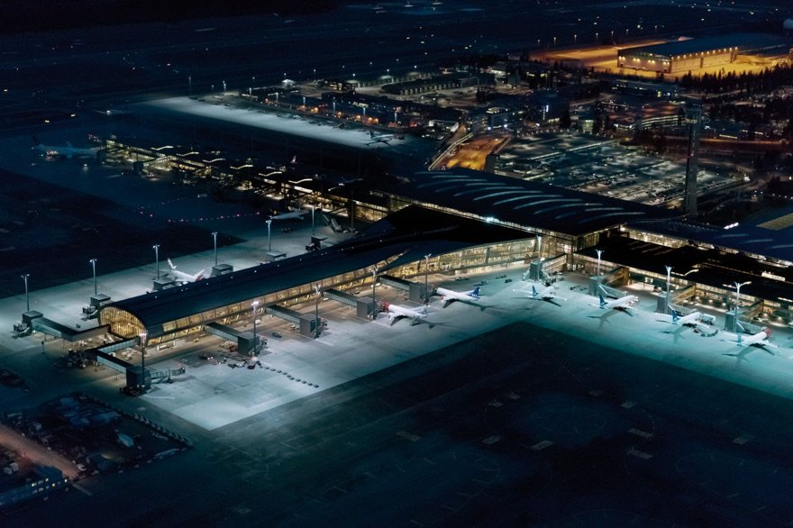 Oslo Airport from above