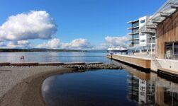 Waterfront at Tjuvholmen in Oslo