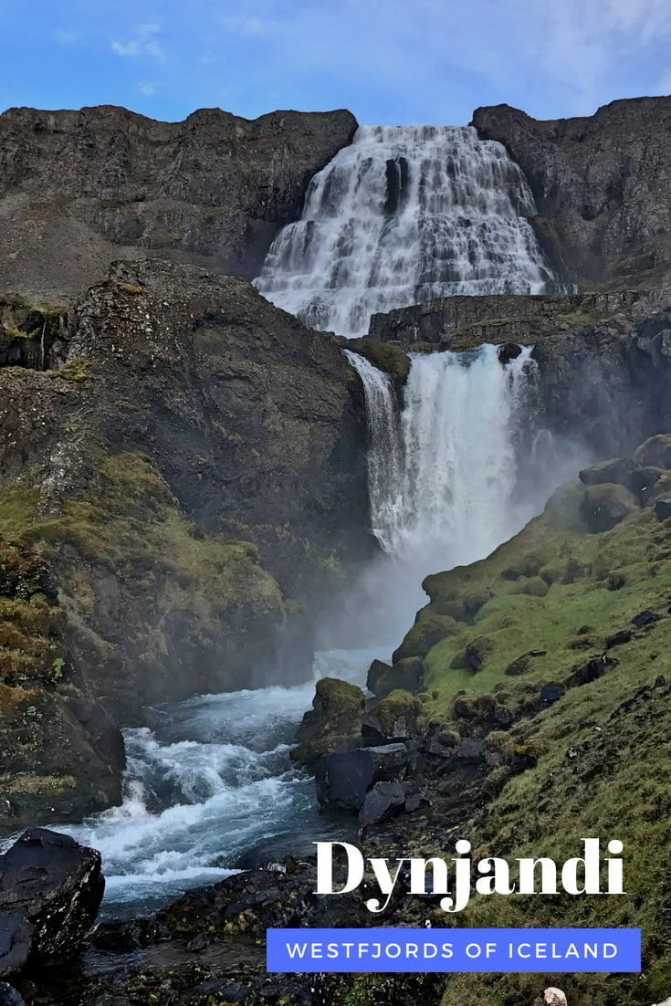The spectacular Dynjandi waterfall is a highlight of an Iceland road trip around the Westfjords