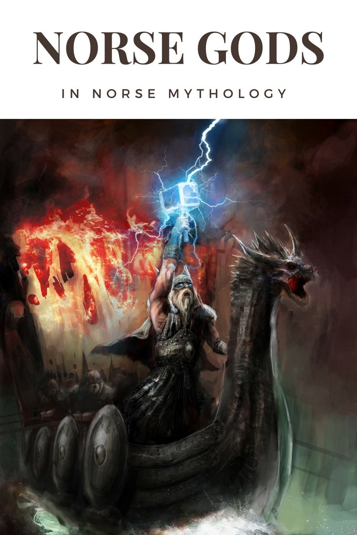 Gods in Norse Mythology - Life in Norway