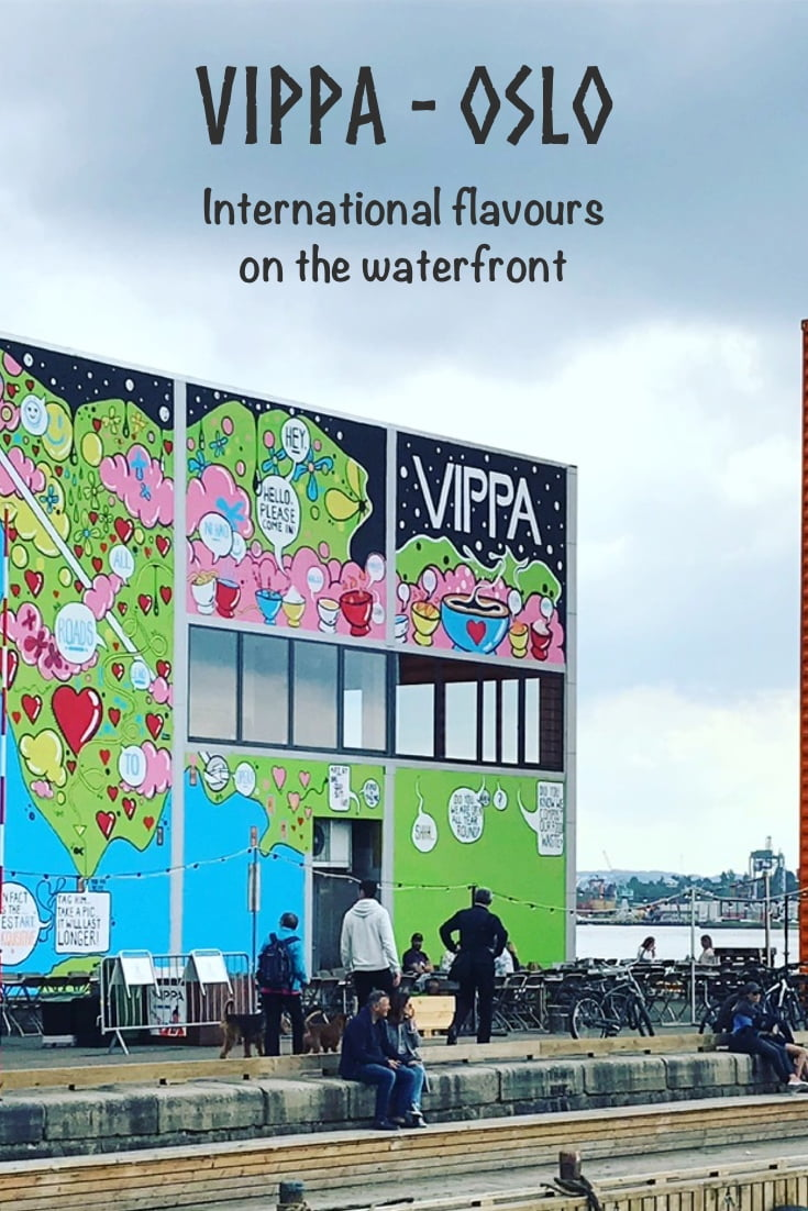Street food at Vippa: Oslo's social integration and entrepreneurship project on the waterfront.