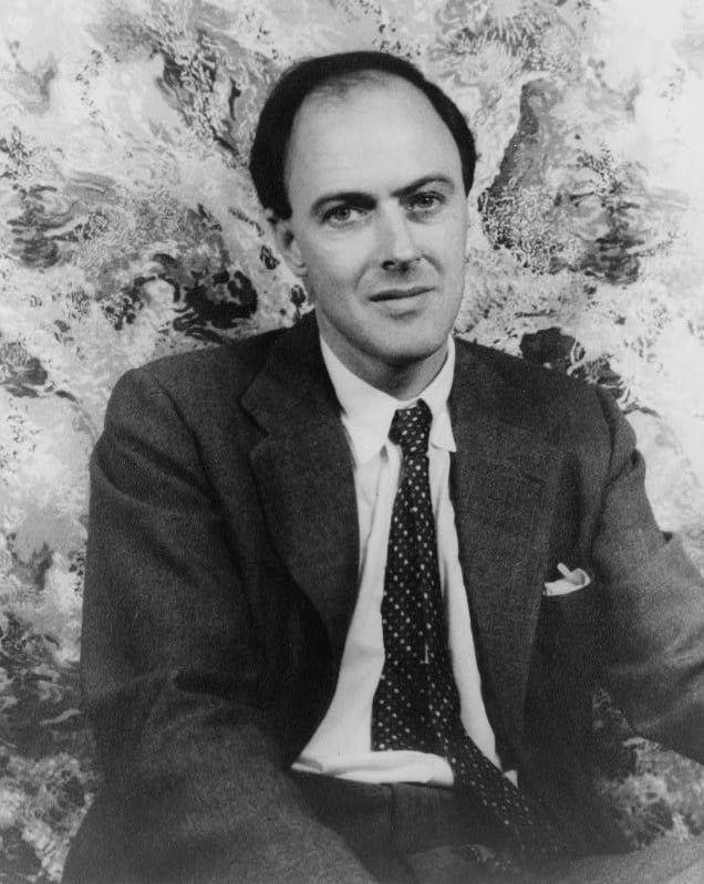 A portrait of Roald Dahl