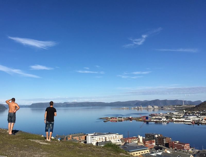 Summer in Hammerfest