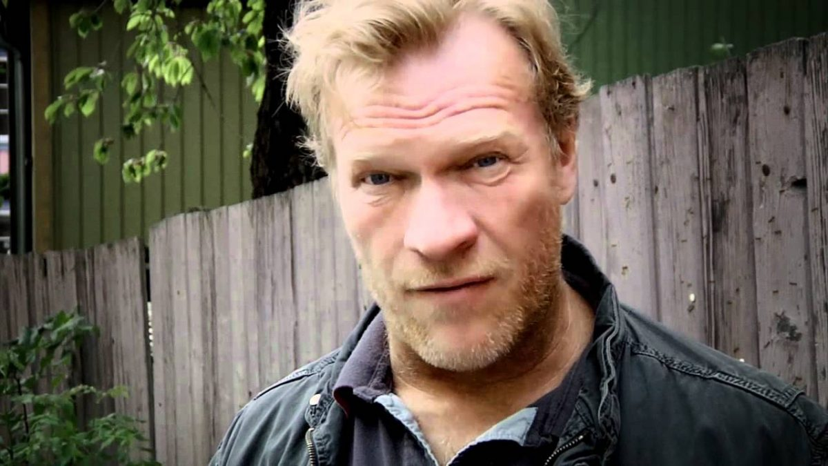 Norwegian actor Sven Nordin