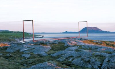 One of the Artscape Nordland collection of public art