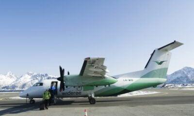 Widerøe Bombardier Dash 8-100 Aircraft