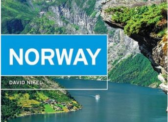 Moon Norway book cover: Travel guidebook to Norway, everything a first-time visitor needs from the northern lights to the Norwegian fjords.