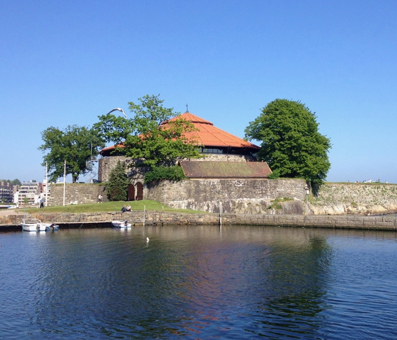 Christiansholm festning in Kristiansand