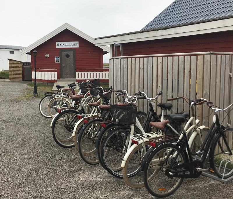 Cycling on Røst, Norway