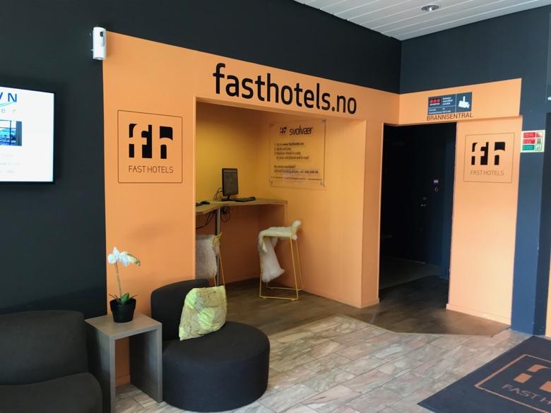 Fast Hotel Svolvær reception