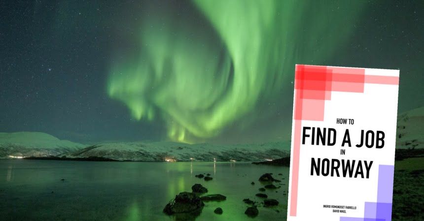 Find a job in Norway banner