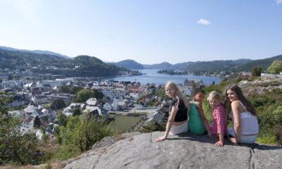 View over Flekkefjord. Photo: Peder Austrud / Visit Sørlandet