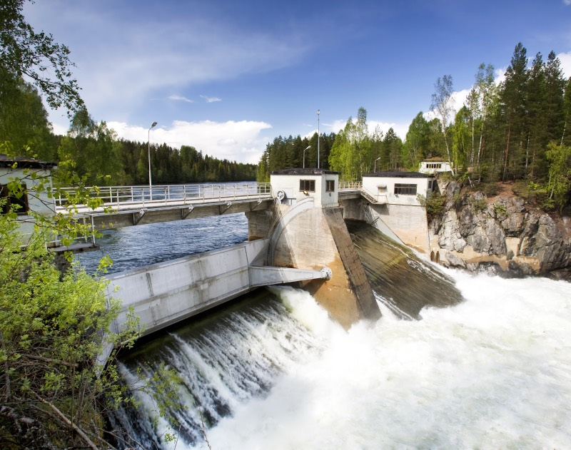 A Norwegian hydropower plant
