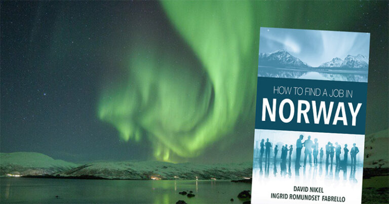 How to find a job in Norway book