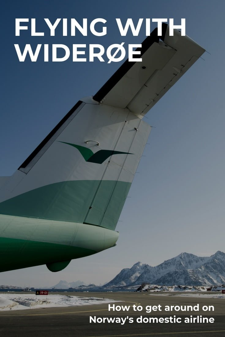 Flying with Widerøe: How to get around with Norway's domestic airline