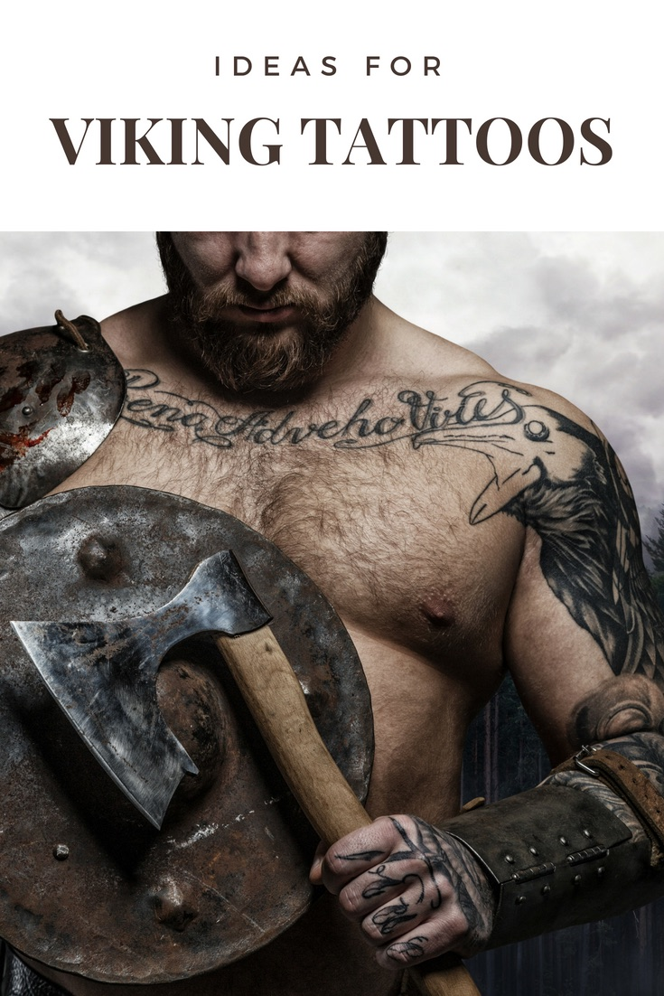 Ideas for viking tattoos: Get inspiration for your Nordic ink