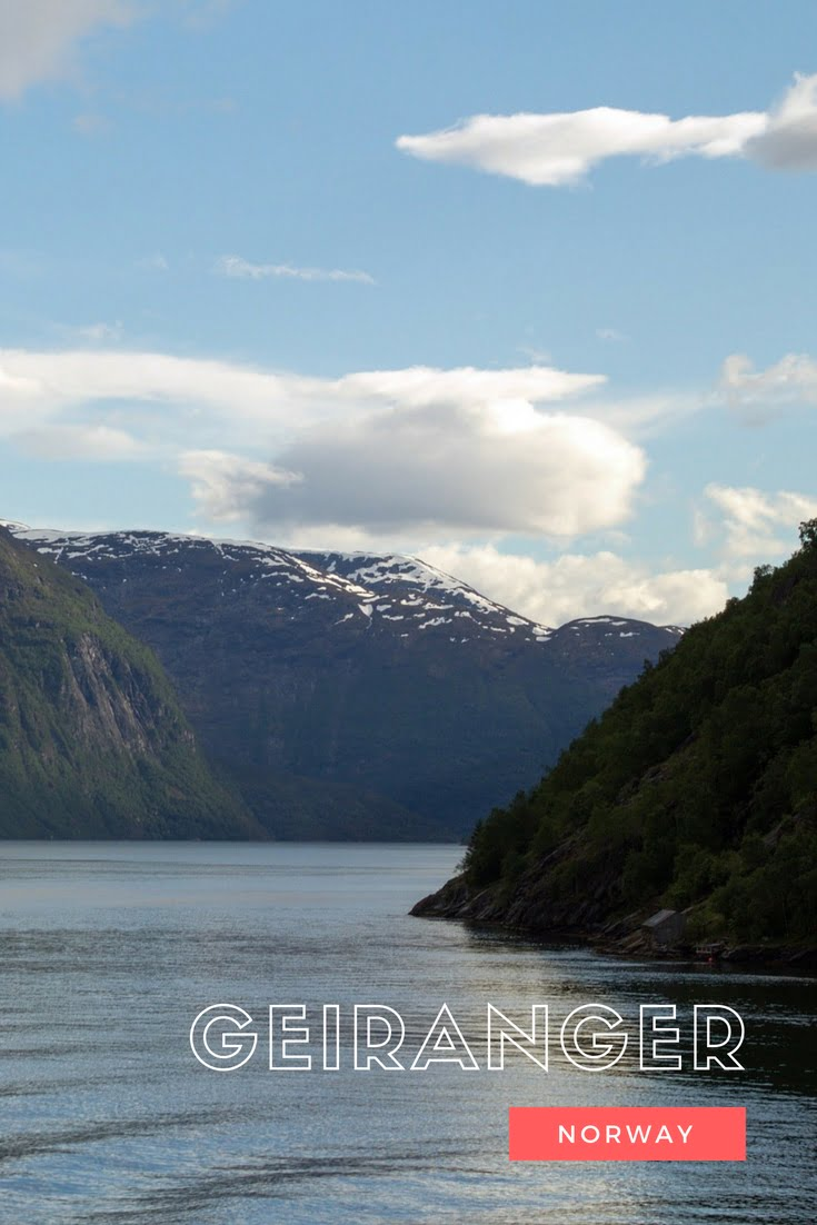 A travel guide to the spectacular Geirangerfjord in Norway, the most famous fjord.