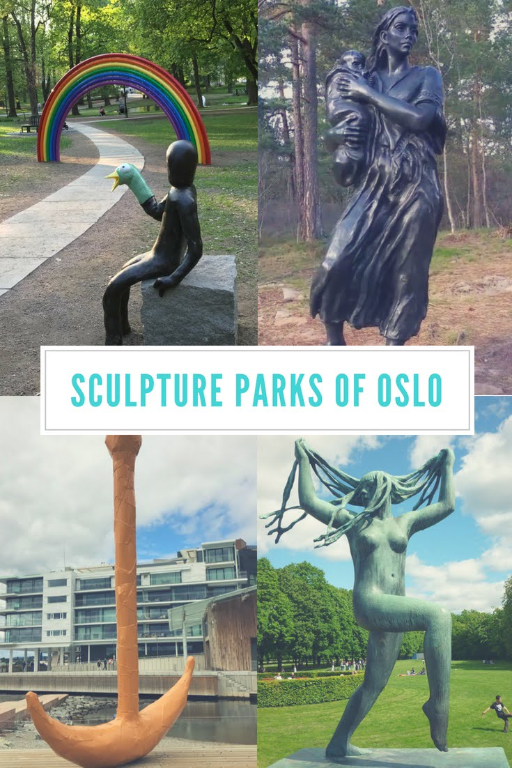 The Incredible Sculpture Parks of Oslo, Norway: Public art is available to enjoy all across the Norwegian capital.