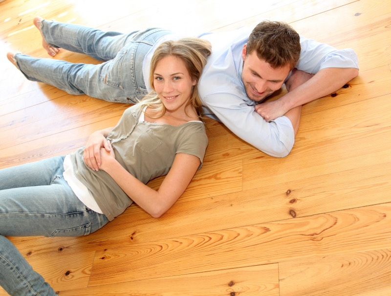 Scandinavian wooden floors are popular in Norwegian homes