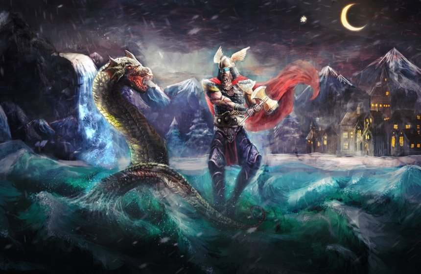 Creatures in Norse Mythology