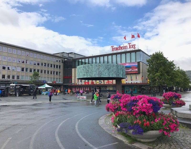 Trondheim Torg shopping