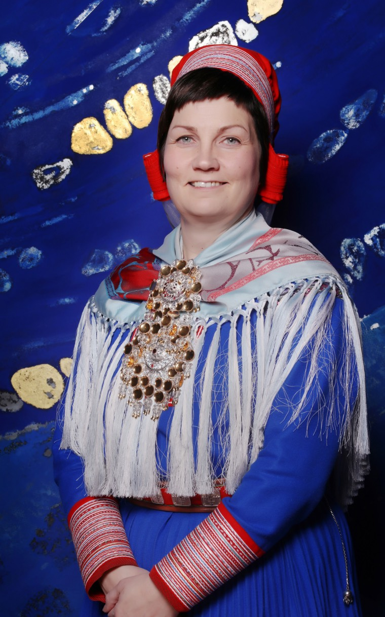 Portrait of Aili Keskitalo, President of the Sami Parliament of Norway 2017-2021