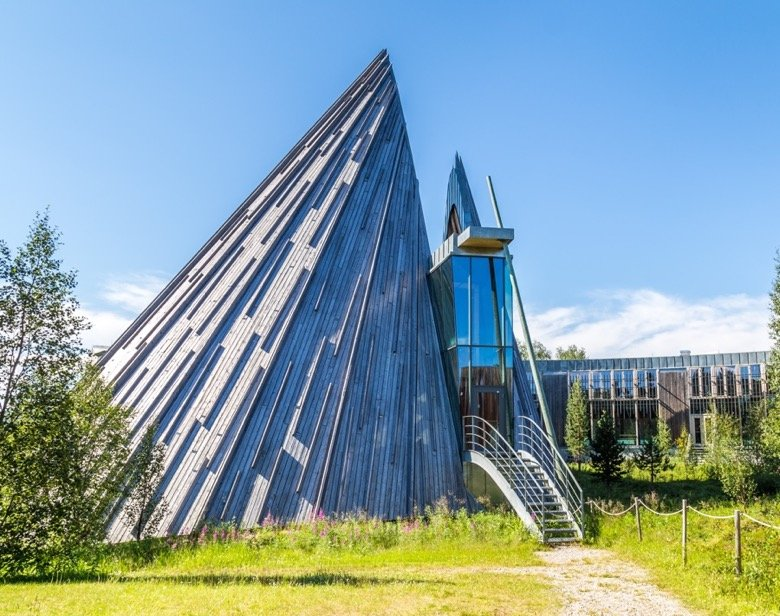 The Norwegian Sami Parliament in Karasjok, Finnmark