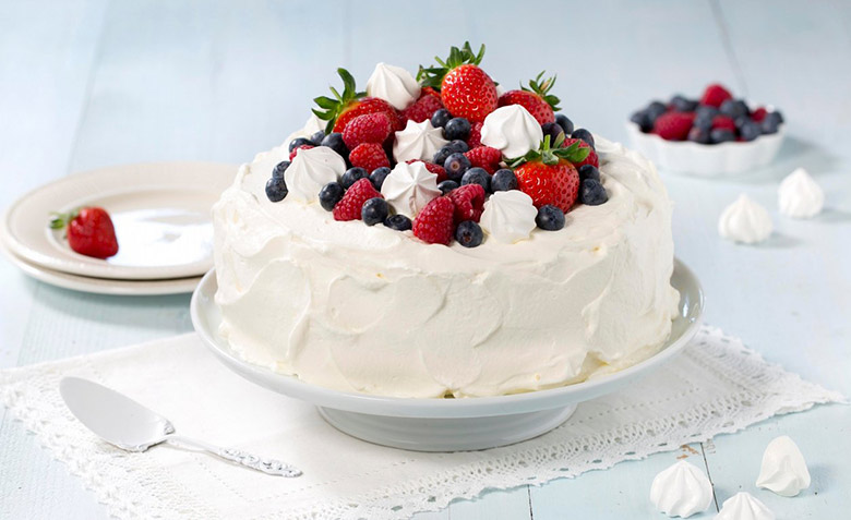 Norwegian cream cake recipe