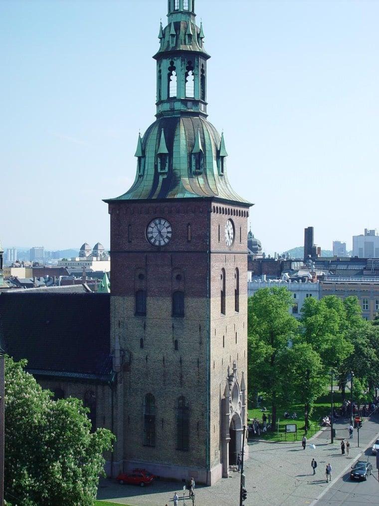 Tower of Oslo Domkirke