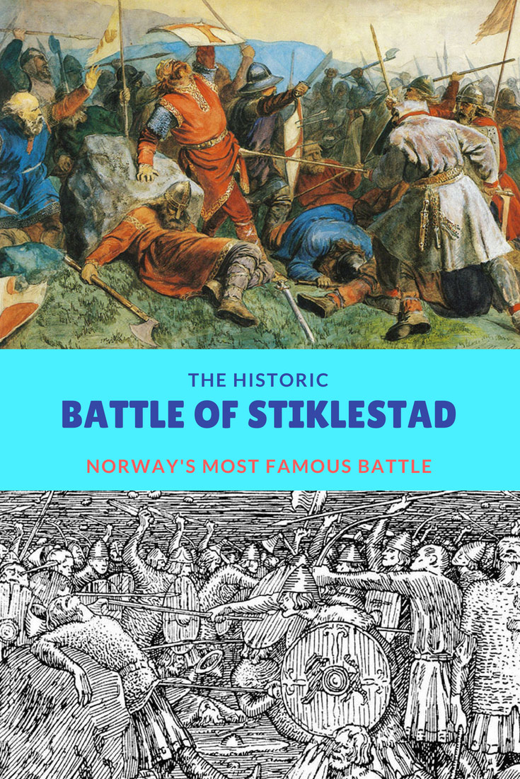 The Battle of Stiklestad: Norway's most famous battle.