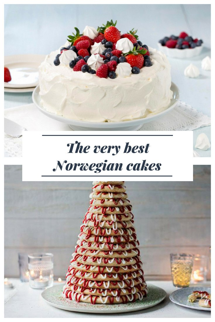 The Best Norwegian Cakes: Traditional cakes and tarts from Scandinavia for birthdays, weddings and other celebrations.