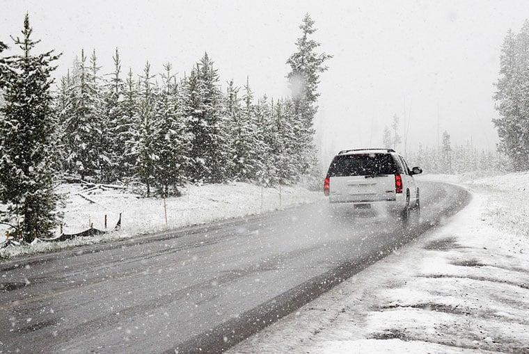 Bad weather in Scandinavia
