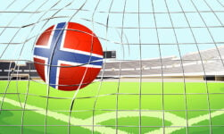 Football goal in Norway