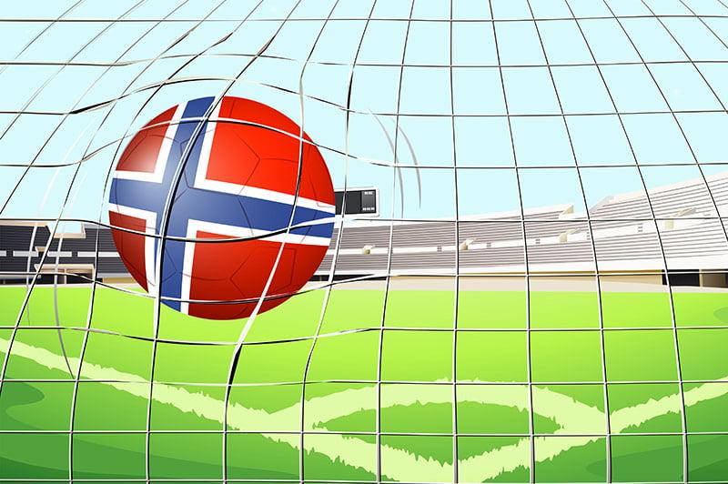 Football goal in Norway