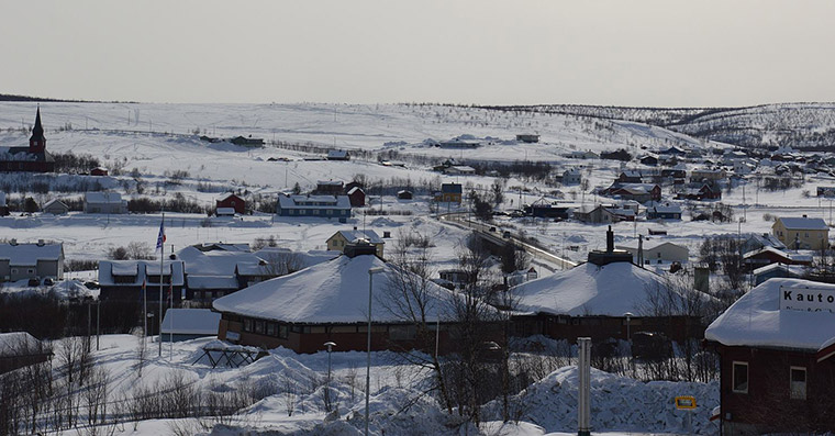 Kautokeino in the winter