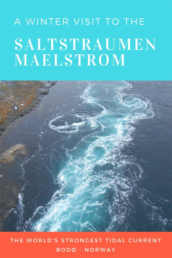 The Saltstraumen malestrom in Norway is the world's strongest tidal current and a big tourist attraction for Bodø