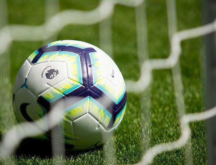A Premier League branded football