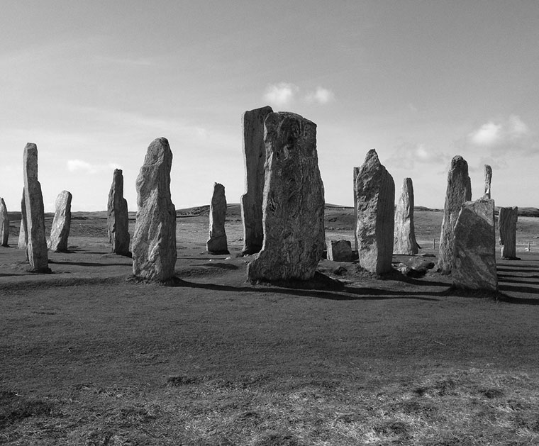 The standing stones of the Outer Hebrides, Scotland