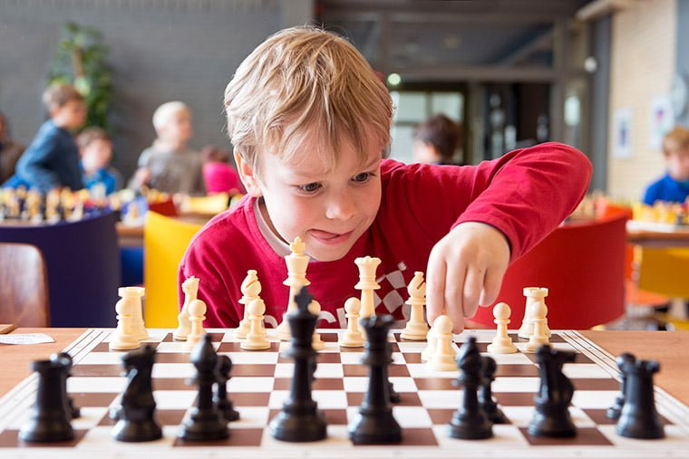 A young chess player