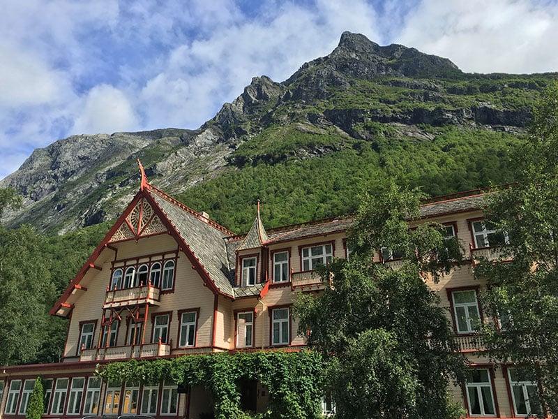 Hotel Union Øye in Norway